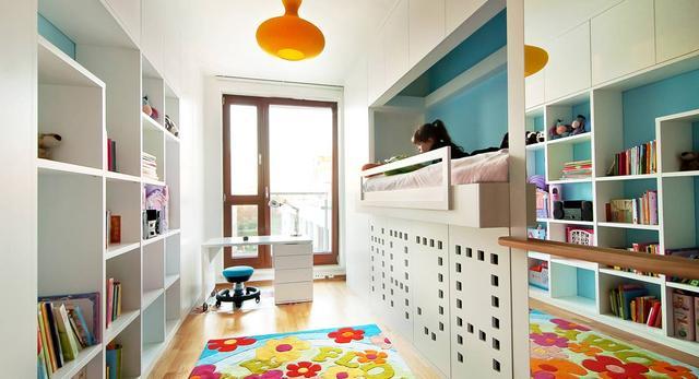 Pokój Mai od biura 81.waw.pl - małe królestwo dla dziecka!